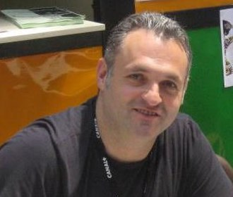 Dexter's Laboratory - Dexter's Laboratory creator Genndy Tartakovsky at the Annecy International Animated Film Festival in 2012.