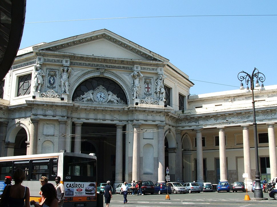 Genova staz Principe ingresso