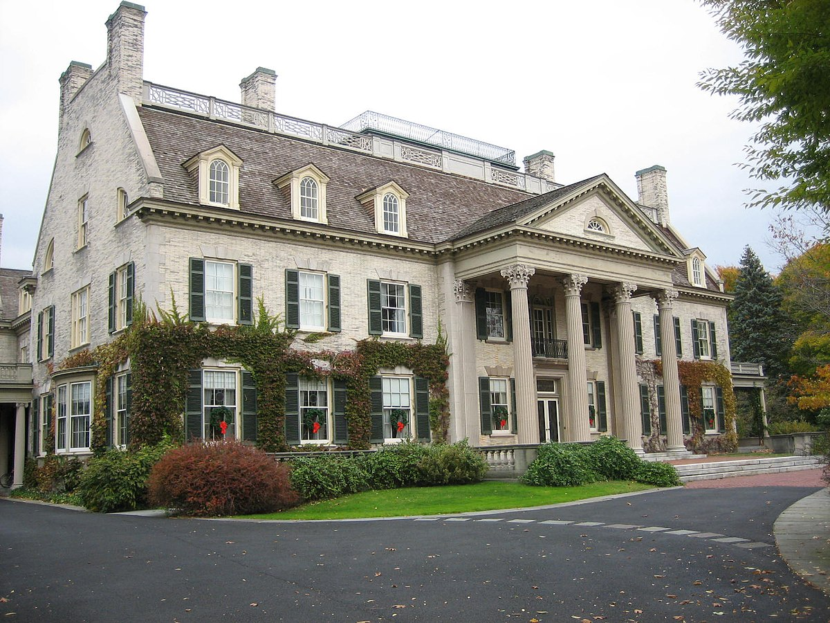 Exterior Mansion: George Eastman Museum