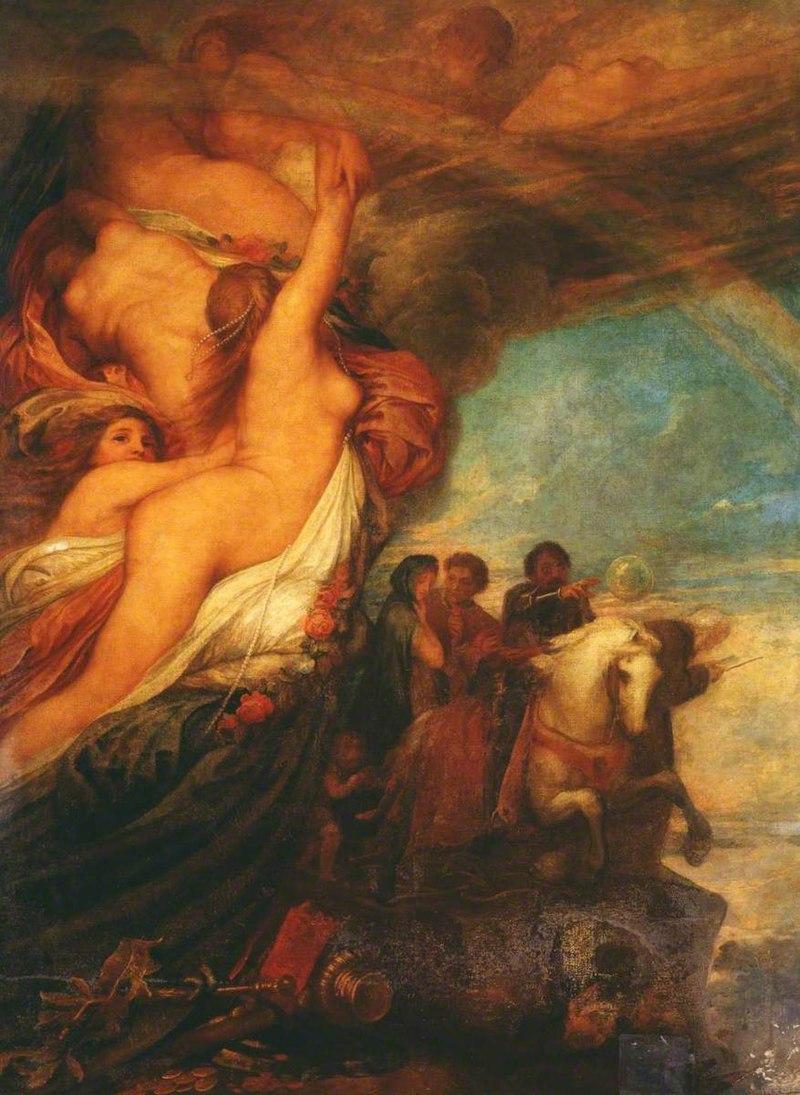 Джордж Фредерик Уоттс (1817-1904) - Иллюзии жизни - N01920 - Национальный Gallery.jpg
