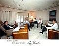 George H. W. Bush and John Linder.jpg