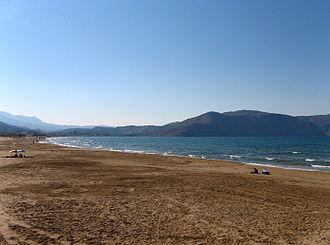 Georgioupoli - Georgioupolis beach