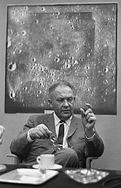 Astronomer Gerard Kuiper, after whom the Kuiper belt is named