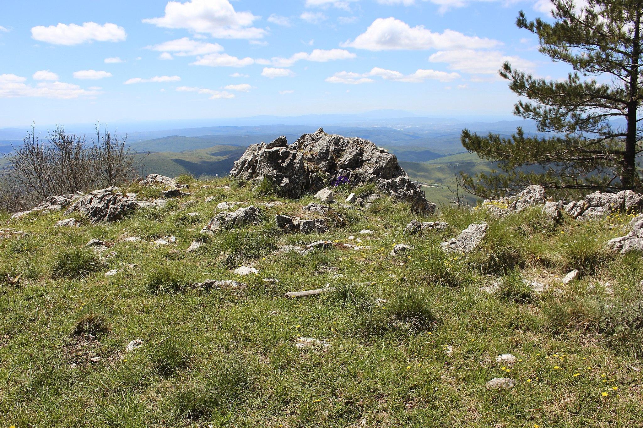 Montagna Cornate di Gerfalco, Gerfalco, Montieri, Provincia di Grosseto