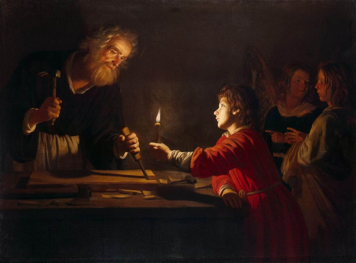 Gerrit van Honthorst - Childhood of Christ - WGA11656.jpg