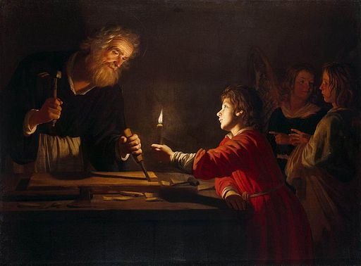 Gerrit van Honthorst - Childhood of Christ - WGA11656