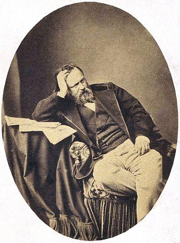 А.И.Герцен, ок. 1861г.