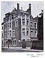 Geschäftsgebäude der Firma C. G. Blanckertz an der Hubertusstraße 34 in Düsseldorf, erbaut vom Architekten Peter Paul Fuchs im Jahre 1900.jpg