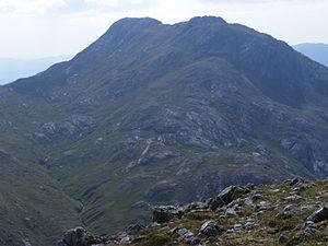 Sgùrr Ghiubhsachain - Sgùrr Ghiubhsachain from the summit of Sgorr Craobh a'Chaorainn