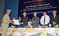 Ghulam Nabi Azad presenting the St John award, at the General Body meeting of the Indian Red Cross Society and St John Ambulance (India), in New Delhi on September 27, 2011.jpg