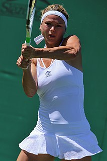 Camila Giorgi Italian tennis player