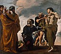Giovanni Lanfranco (Italian - Moses and the Messengers from Canaan - Google Art Project.jpg