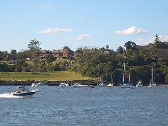 Parramatta River - Image: Gladesville Parramatta River