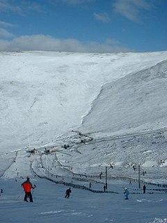 Glenshee Ski Centre largest ski resort in Scotland