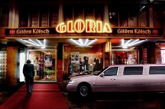 Gloria-Theater (Cologne) - Entrance to the Gloria-Theater