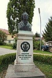 Denkmal für Gluck in Waidenwang (Quelle: Wikimedia)
