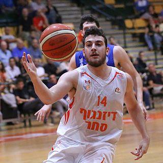 Golan Gutt Israeli basketball player