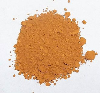 Aqua regia - Pure gold precipitate produced by the aqua regia chemical refining process