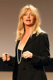 Goldie Hawn American actress