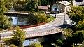 Golub-Dobrzyń - widok mostu na ulicy Toruńskiej z okna zamku. - panoramio.jpg