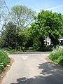 Goose Lane meets the B1159 (Town Road) - geograph.org.uk - 798375.jpg