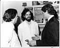 Governor Bill Clinton Speaks with NCTR Drs. Ron Mitchum and Walter Korfmacher, June 16, 1983 (7421769186).jpg