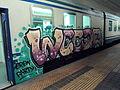 Graffiti on rolling stock in Rome 204.JPG