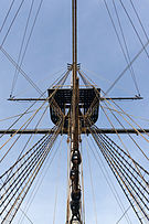 Grand mât Hermione Rochefort sur Mer.jpg