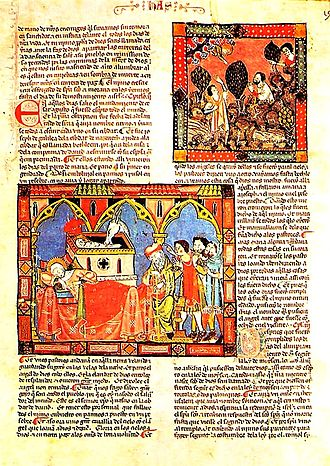 Literature of Alfonso X - Image: Grande e general estoria (códice del Escorial)
