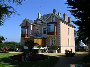 Maurice Dior - Dior's villa Les Rhumbs in Granville (Manche), France.