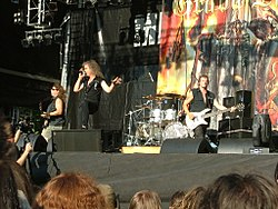 Grave Digger in concerto al Metalcamp 2007.