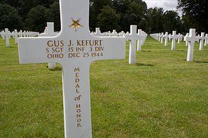 Gus Kefurt - Gravestone of Gus Kefurt