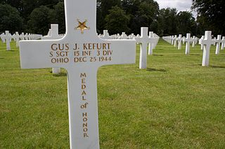 Gus Kefurt United States Army Medal of Honor recipient