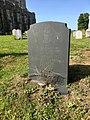 Gravestone of Robert Geoffrey Tunstall St. Leger at Holy Trinity Church, Blythburgh, August 2017.jpg