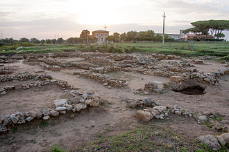 Gravisca - The excavations at Gravisca, conducted by the University of Perugia.