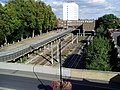 Great Western Railway tracks leading to Ealing Broadway station - geograph.org.uk - 989482.jpg