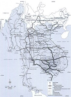 Greater Mekong Subregion Trans-national region of the Mekong River in Southeast Asia