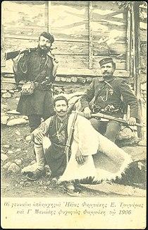 Greek kapetans Farmakis Tromaras and Manolis.jpg