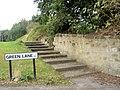 Green Lane 9 steps to heaven - geograph.org.uk - 568680.jpg