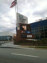 Greensboro Coliseum Complex - Wikipedia