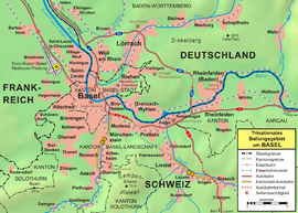 Basel im Dreiländereck