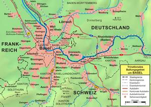 Basel metropolitan area - Basel metropolitan area