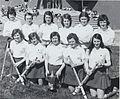 Group portrait of NCPE ladies hockey team, who won the Cross Cup. (8978095030).jpg