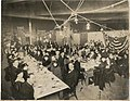 Guests sitting at tables during chili party, Seattle, December 16, 1915 (MOHAI 11178).jpg