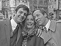 Guido de Moor, Catherine von Schell en Piet Römer (1967).jpg