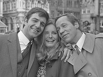 Catherine Schell - Image: Guido de Moor, Catherine von Schell en Piet Römer (1967)