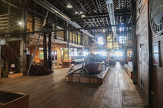 Gulf of Georgia Cannery - The Cannery's Museum Interior