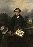 Hippolyte Bellangé, Ritratto di Gustave de Maupassant