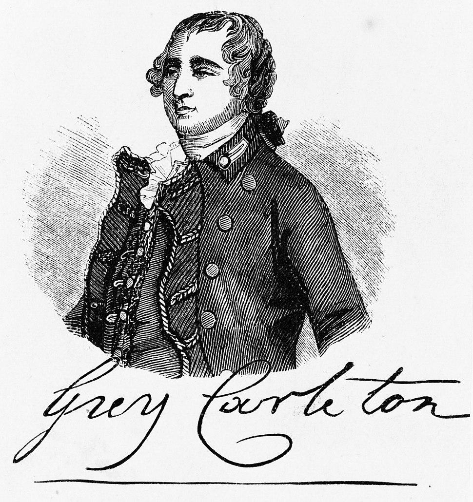 Guy carleton portrait