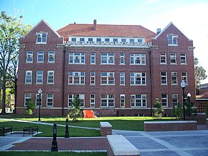 Newell Hall (Gainesville, Florida) - Image: Gville UF Newell 01